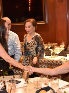 Welcome Dinner for former Miss Universe Margie Moran