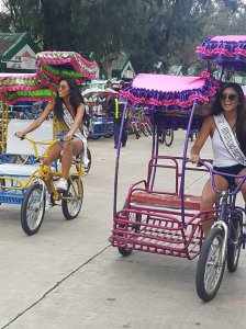 Binibinis fun day at Burnham Park, Baguio!