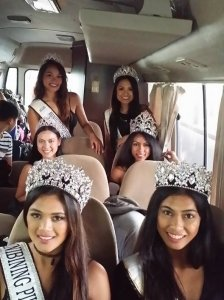 Binibinis traveling in luxury and comfort from Manila to Baguio
