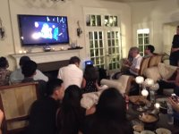 Coronation Night viewing and victory party